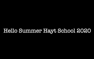 Summer with Hayt School
