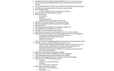 Hayt Covid Protocol Reference Sheet