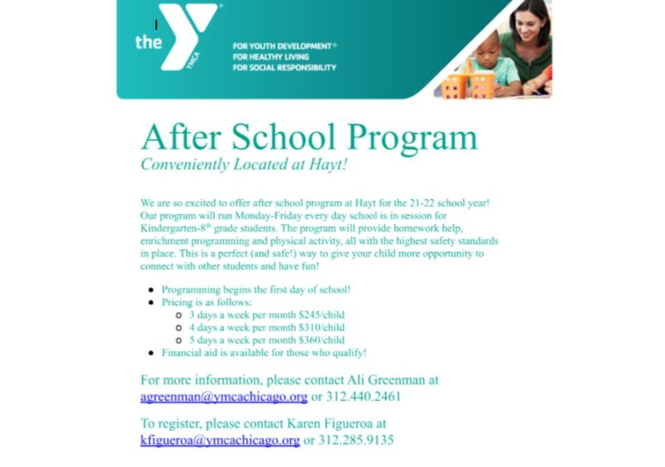 YMCA After School Program